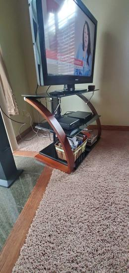 L- Modern Television Stand