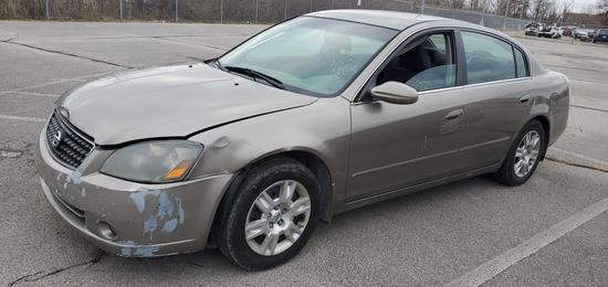 2006 Taupe Nissan Altima