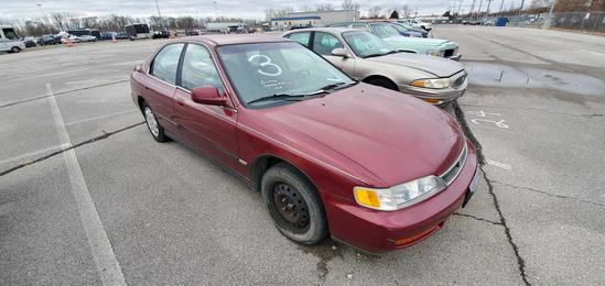 1996 Red Honda Accord