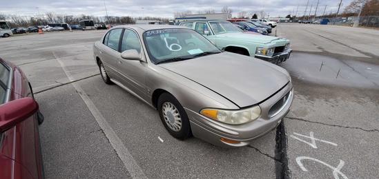 2002 Gold Buick Lesabre
