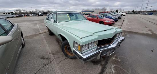 1977 Green Cadillac DeVille