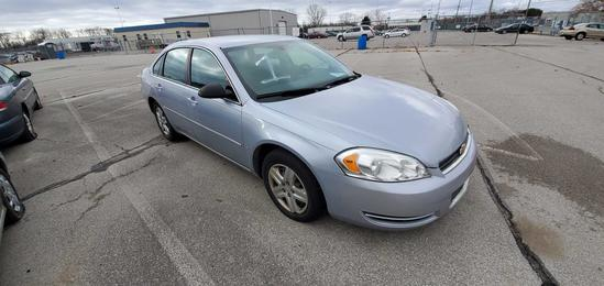 2006 Light Blue Chevrolet Impala