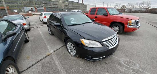 2011 Black Chrysler 200
