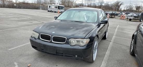 2003 Black BMW 745