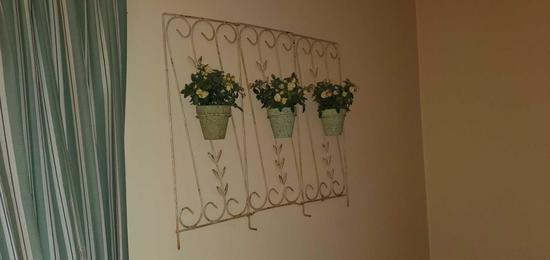 B2- Wall Hanging Metal Plant Holder