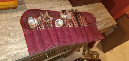 H- Crown Silver Plated Serviceware