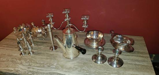 L- Large Lot Silver Plated