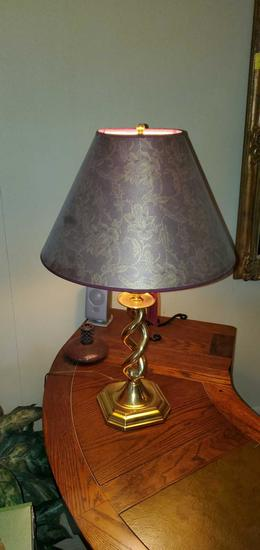 FR- (3) Matching Gold Finish Lamps