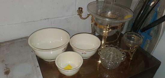 BS- Ovenware Institute Bowl Set & Decoratives