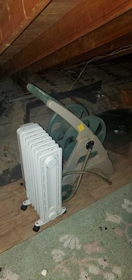 A- Heater & Hose Reel