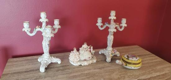 D- Lot of Decorative Items