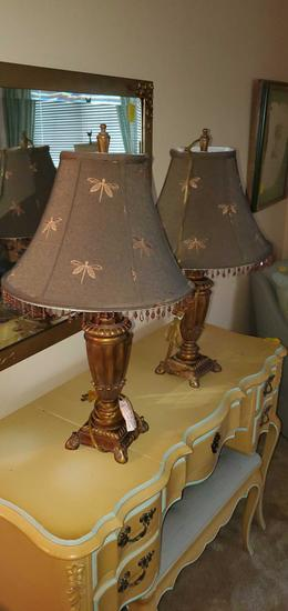 B2- Pair of Lamps