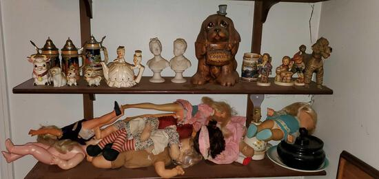 Lot of Collectible Dolls & More!