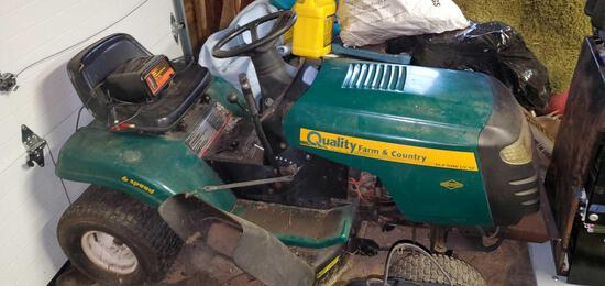 "Quality Farm and Country 14.5 HP 42"" cut"