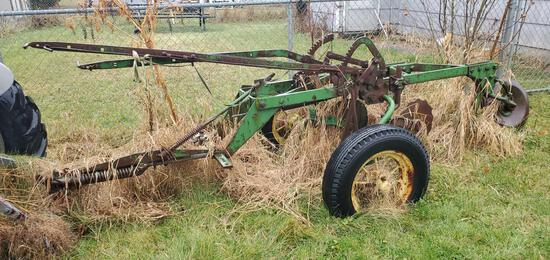 John Deere Two Bottom Plow