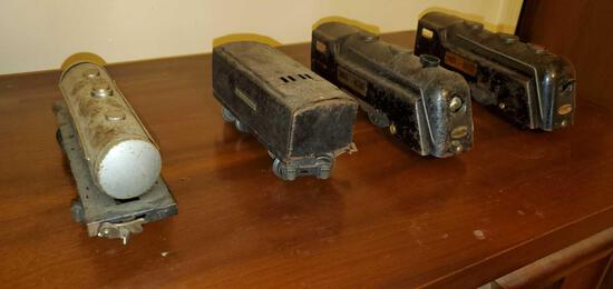 Lot of Lionel Train Toys