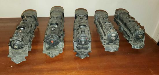 Lot of Toy Train Engines