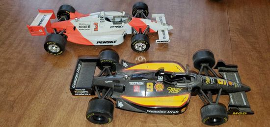 K- Lot of (2) Racing Champions Indy Die-Cast Cars