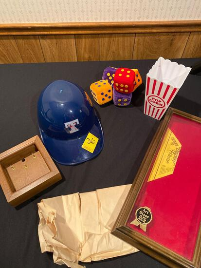 Mud Hens Hat and Photo Prop & Frames