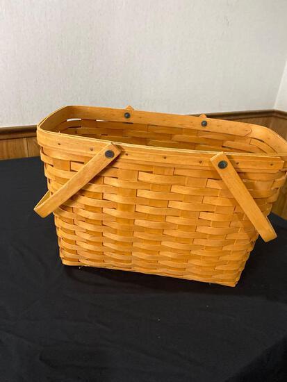 1996 Signed Longaberger Basket