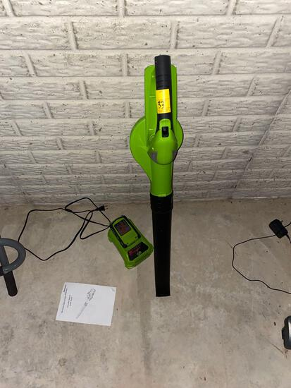 Leaf Blower and Charger