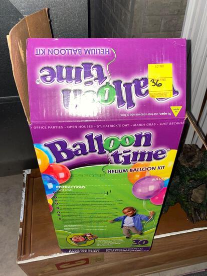 Balloon Time Helium Kit