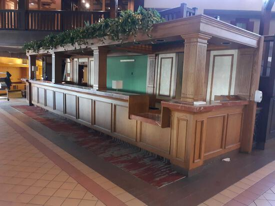 L- Front Lobby Desk and Contents