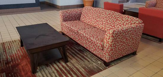 L- Sofa and Coffee Table