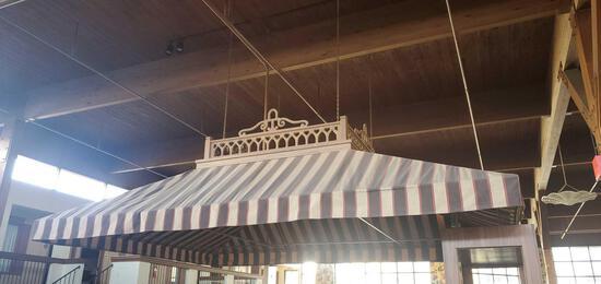 A- Ceiling Hung Bar Canopy