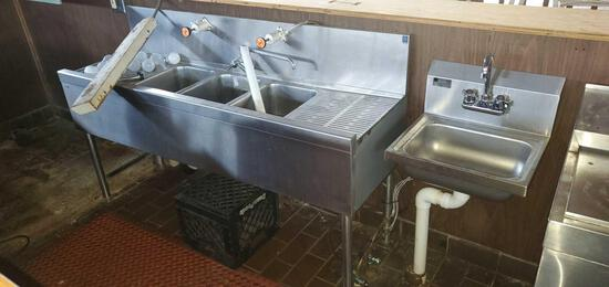 A- Stainless Steel Sinks