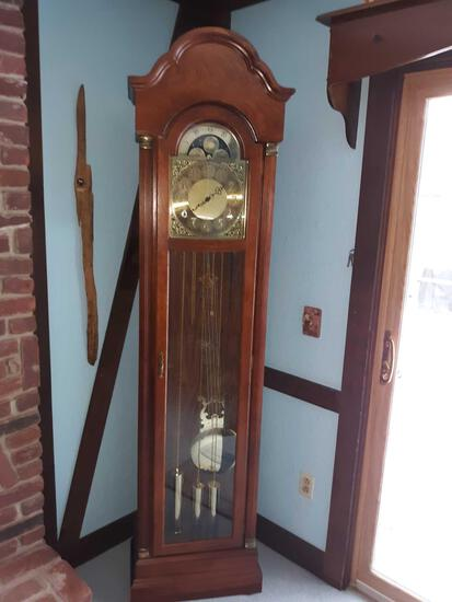 LR- Oak Ridgeway Grandfather Clock