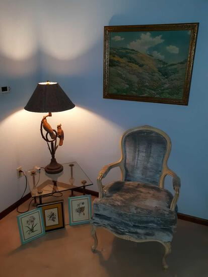 FR- Decor and Chair
