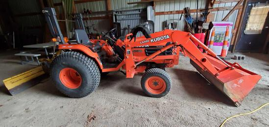 B2- Kubota B7800 Tractor with LA402 Front Loader