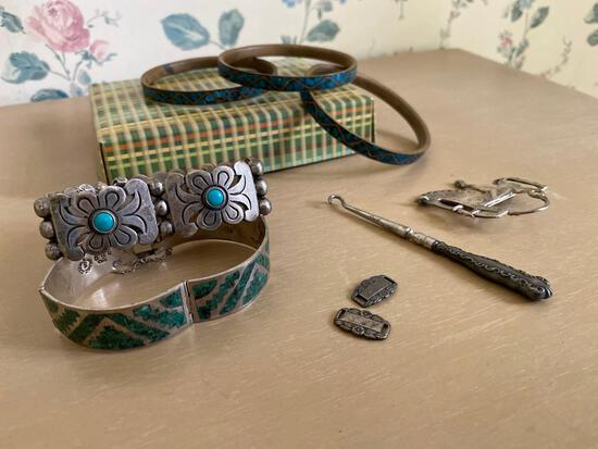 Sterling silver jewelry, Turquoise