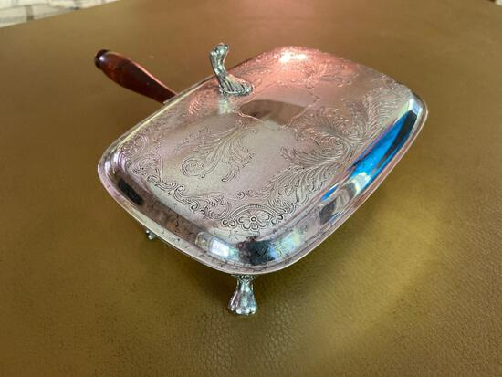 FR- Silverplate Butlers Ashtray