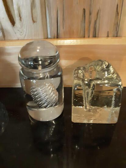 FR- (2) Crystal Glass