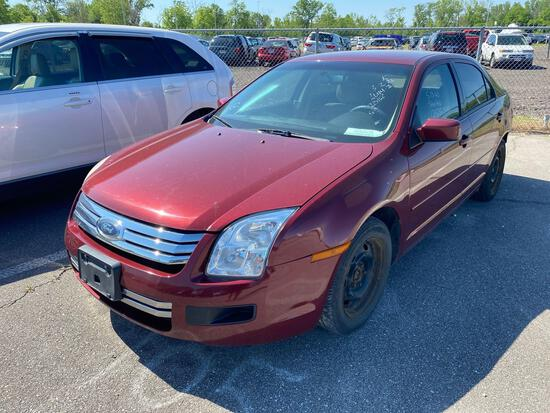 2006 Maroon Ford Fusion