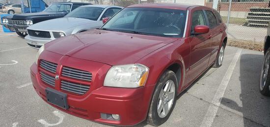 2006 Red Dodge Magnum