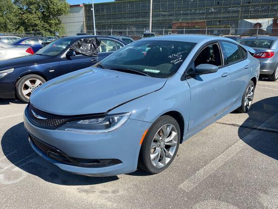 2015 Blue Chrysler 200