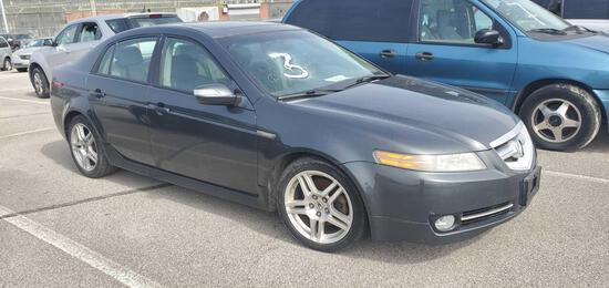 2007 Gray Acura TL