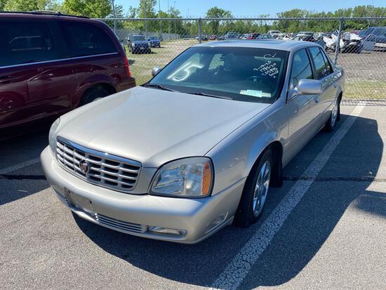 2004 Silver Cadillac DTS