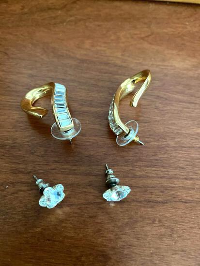MB- (2) Sets of Costume Earrings