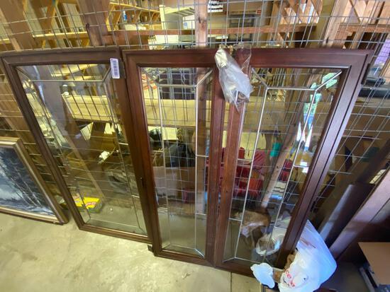 W2- Leaded Glass Windows