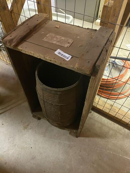 W2- Antique Barrel