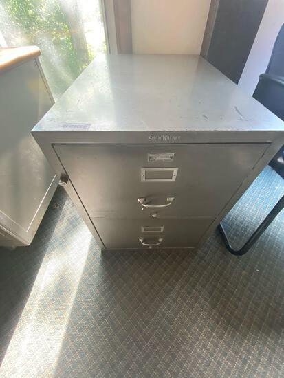 UP- File Cabinet Shaw Walker Firebox