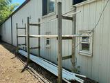 O- PVC Pipe and Rack