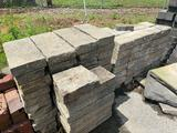 O- Large Lot of Different Styles of Pavers