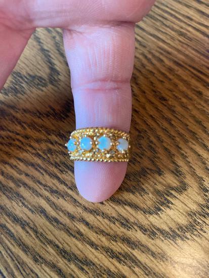 K- 10K Gold Filled Ring