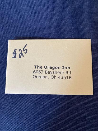 The Oregon Inn Gift Card $25
