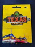 Texas Roadhouse Gift Card $50